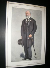 Vanity Fair Print 1910 King Edward VII, Special Issue